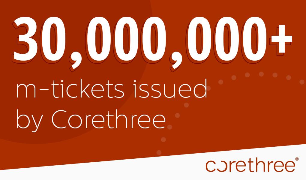 Corethree announces record-breaking acceleration