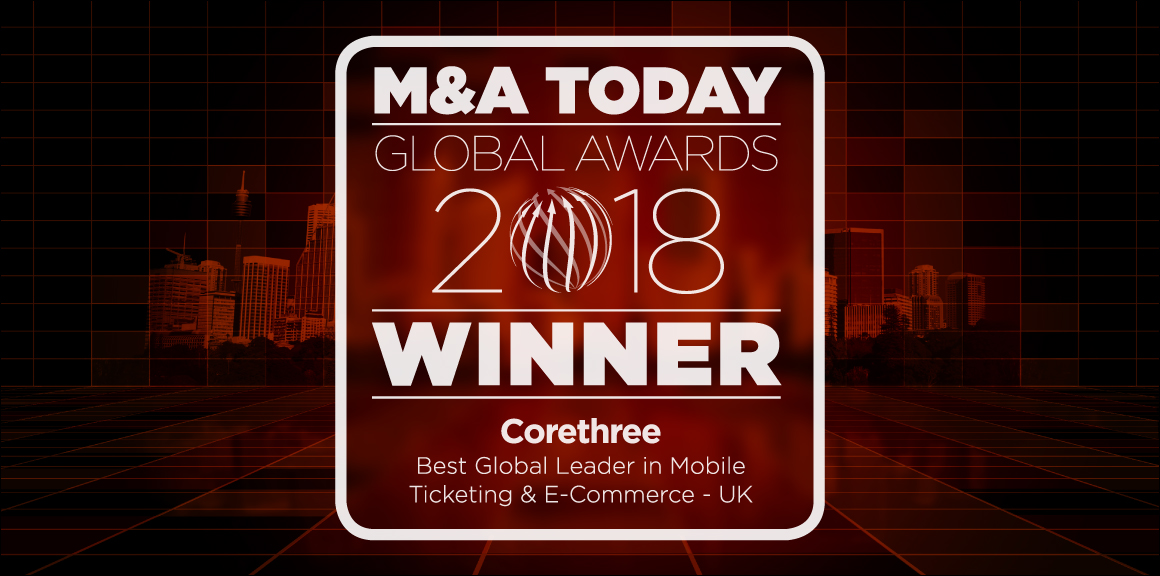 Corethree Wins M&A Today Global Award